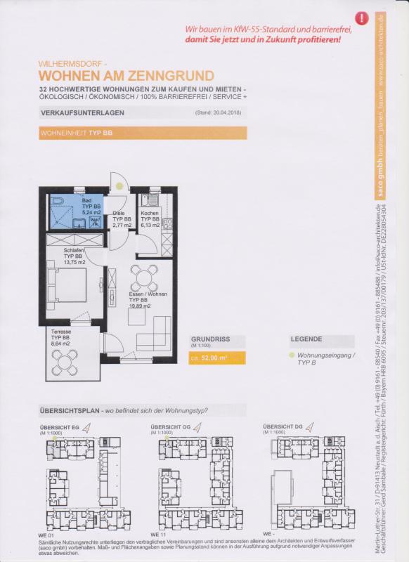 91452 Wilhermsdorf Wohnung 2 Zimmer Eigentumswohnungen Am Zenngrund