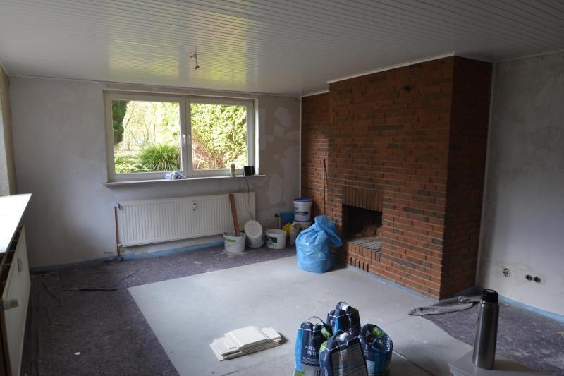 Wohnzimmer In Der Renovierung